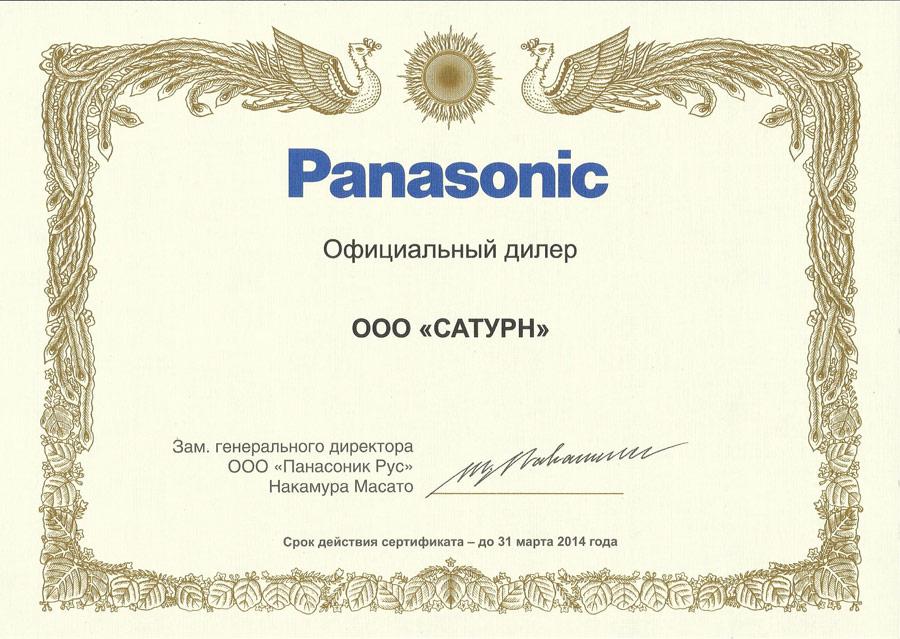 Panasonic 2013 5